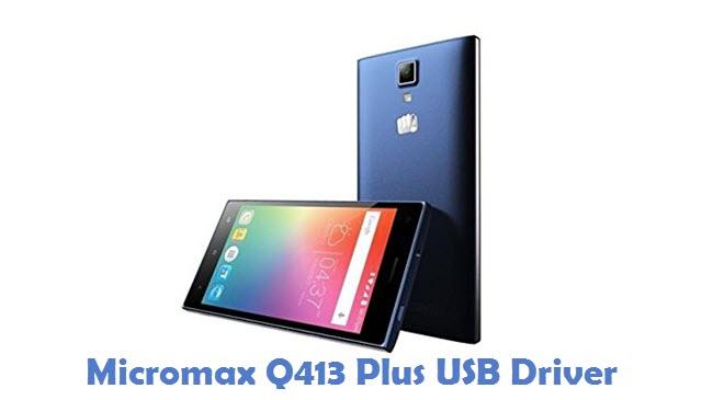 Micromax Q413 Plus USB Driver