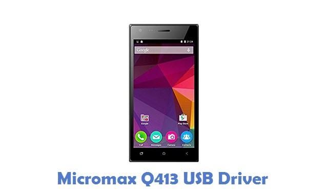Micromax Q413 USB Driver