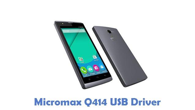 Micromax Q414 USB Driver