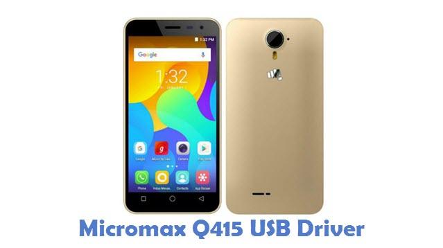 Micromax Q415 USB Driver