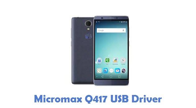 Micromax Q417 USB Driver