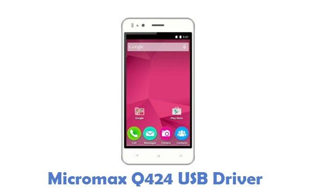 Micromax Q424 USB Driver