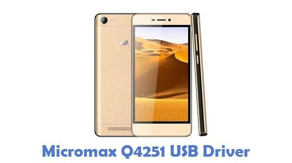 Micromax Q4251 USB Driver