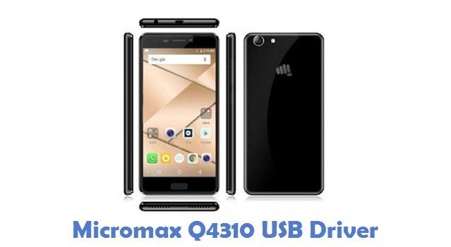 Micromax Q4310 USB Driver