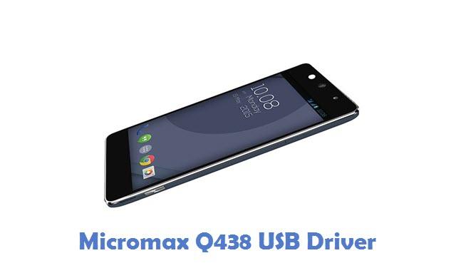 Micromax Q438 USB Driver