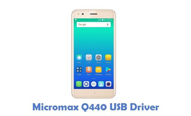 Micromax Q440 USB Driver
