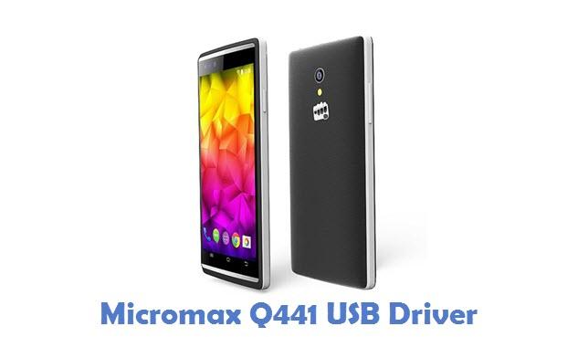 Micromax Q441 USB Driver