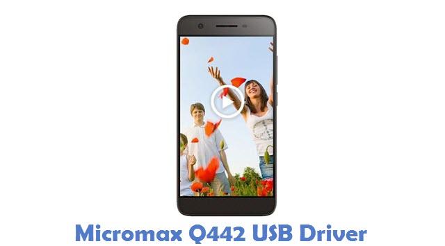 Micromax Q442 USB Driver
