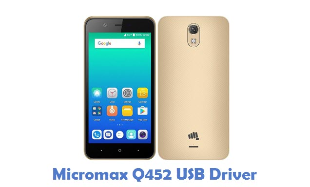 Micromax Q452 USB Driver