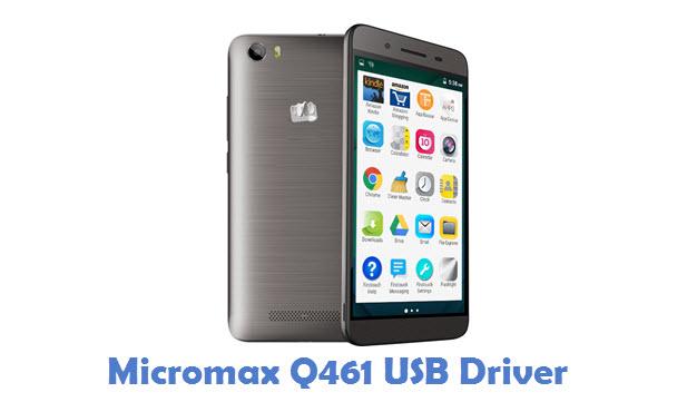 Micromax Q461 USB Driver