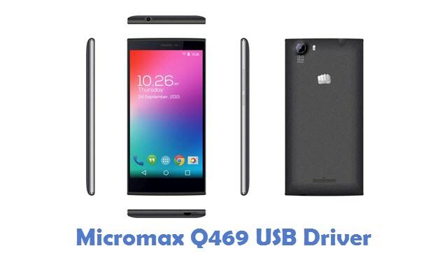 Download Micromax Q469 USB Driver | All USB Drivers