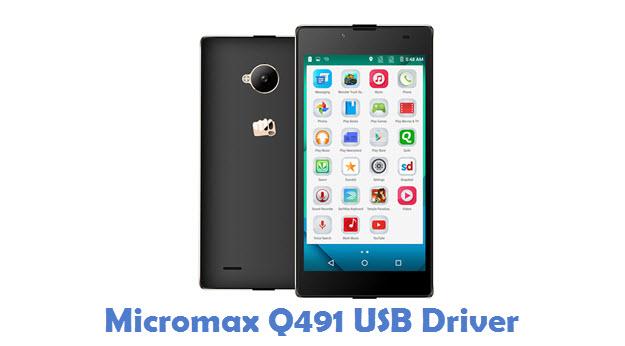Micromax Q491 USB Driver