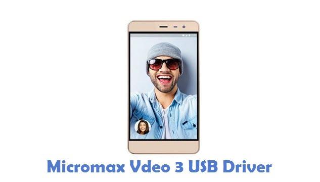 Micromax Vdeo 3 USB Driver