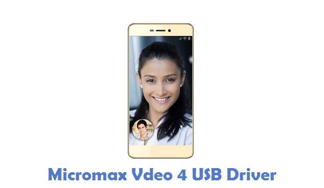 Micromax Vdeo 4 USB Driver