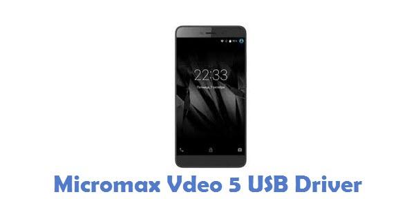 Micromax Vdeo 5 USB Driver