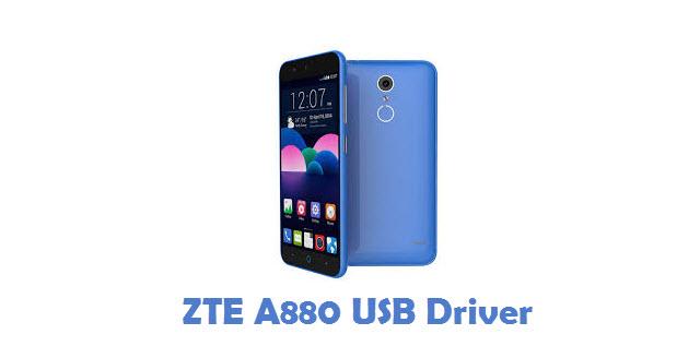ZTE A880 USB Driver