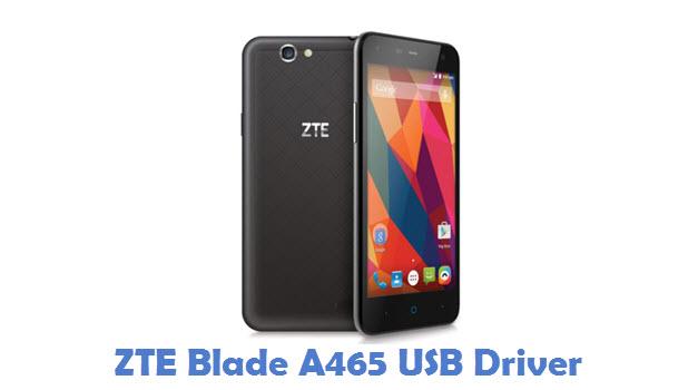ZTE Blade A465 USB Driver