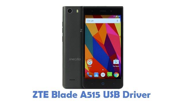 ZTE Blade A515 USB Driver