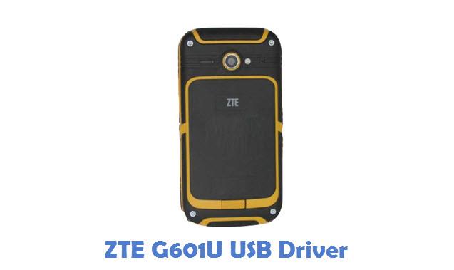 ZTE G601U USB Driver