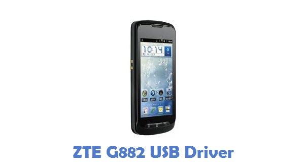 ZTE G882 USB Driver