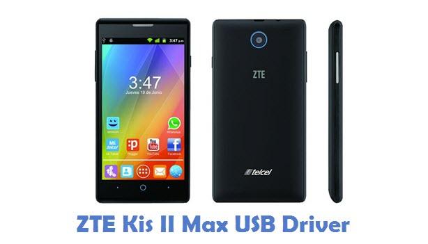 ZTE Kis II Max USB Driver
