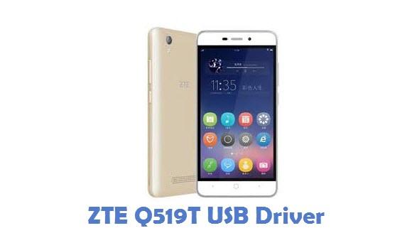 ZTE Q519T USB Driver