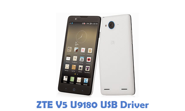 ZTE V5 U9180 USB Driver