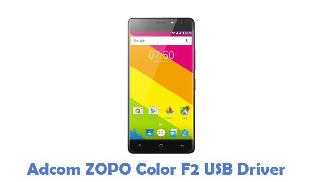 Adcom ZOPO Color F2 USB Driver