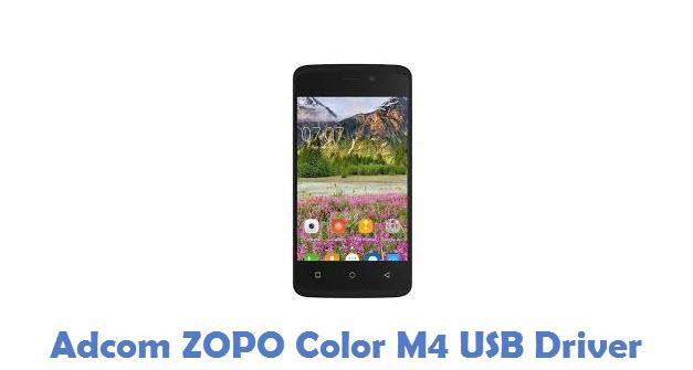 Adcom ZOPO Color M4 USB Driver
