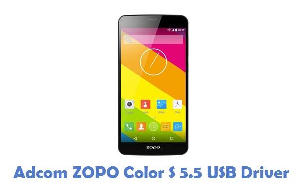 Adcom ZOPO Color S 5.5 USB Driver
