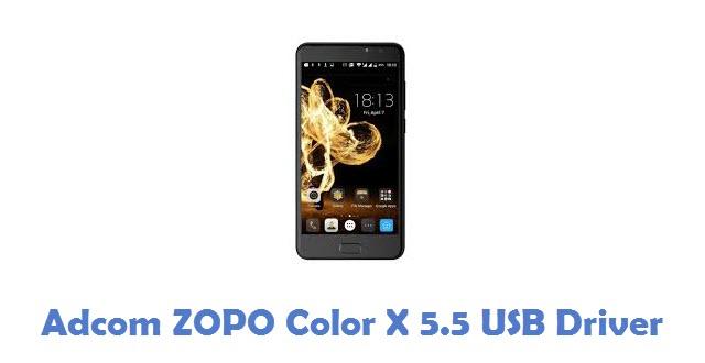Adcom ZOPO Color X 5.5 USB Driver