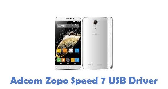 Adcom Zopo Speed 7 USB Driver