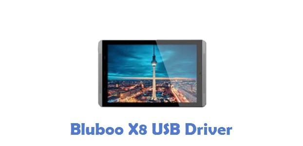 Bluboo X8 USB Driver