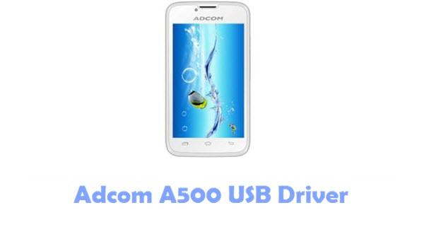 Download Adcom A500 USB Driver