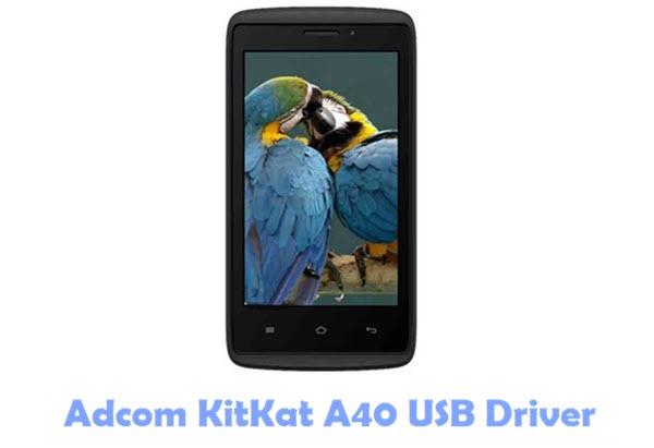 Adcom KitKat A40 USB Driver