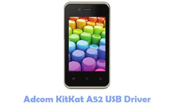 Adcom KitKat A52 USB Driver