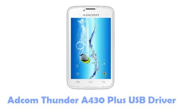 Adcom Thunder A430 Plus USB Driver