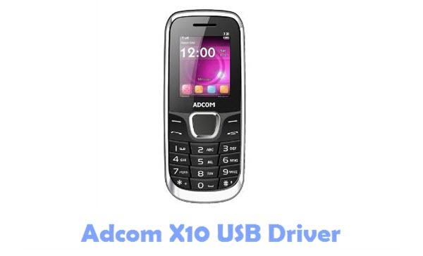 Adcom X10 USB Driver
