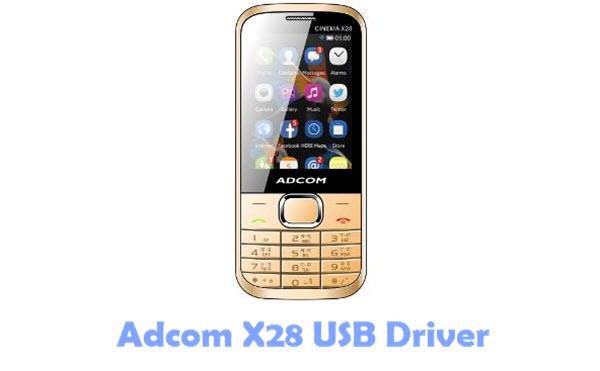 Adcom X28 USB Driver