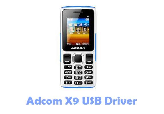Adcom X9 USB Driver