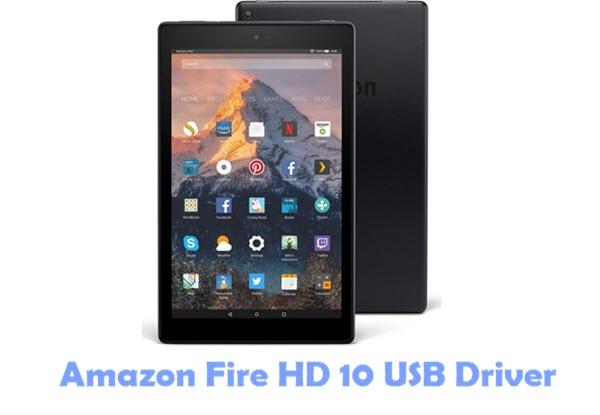 Amazon Fire HD 10 USB Driver