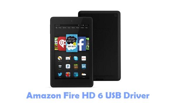Amazon Fire HD 6 USB Driver