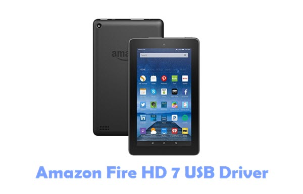 Amazon Fire HD 7 USB Driver