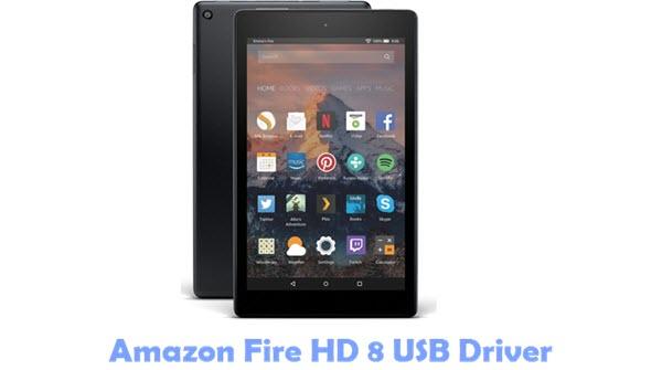 Amazon Fire HD 8 USB Driver