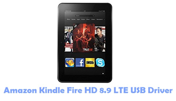 Amazon Kindle Fire HD 8.9 LTE USB Driver