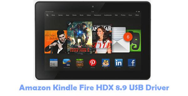 Download Amazon Kindle Fire HDX 8.9 USB Driver