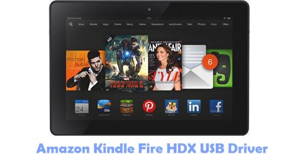Download Amazon Kindle Fire HDX USB Driver