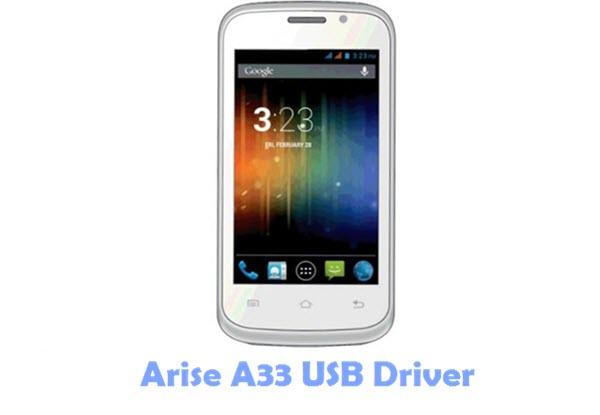 Arise A33 USB Driver