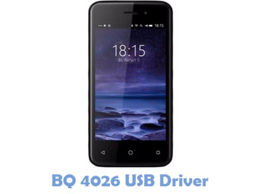 Download BQ 4026 USB Driver