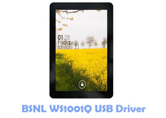 Download BSNL WS1001Q USB Driver